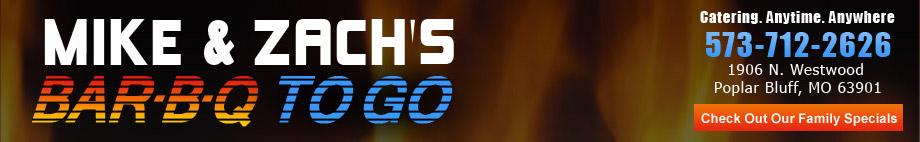 Mike & Zach's BBQ Logo